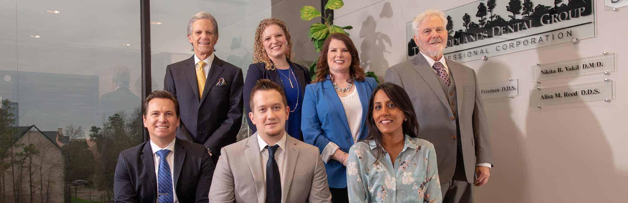 Members of Woodlands Dental Group